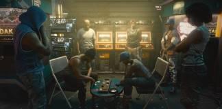 personajes de Cyberpunk jugando partida