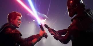 lucha de espadas laser