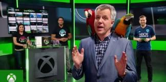 presentadores del Inside Xbox